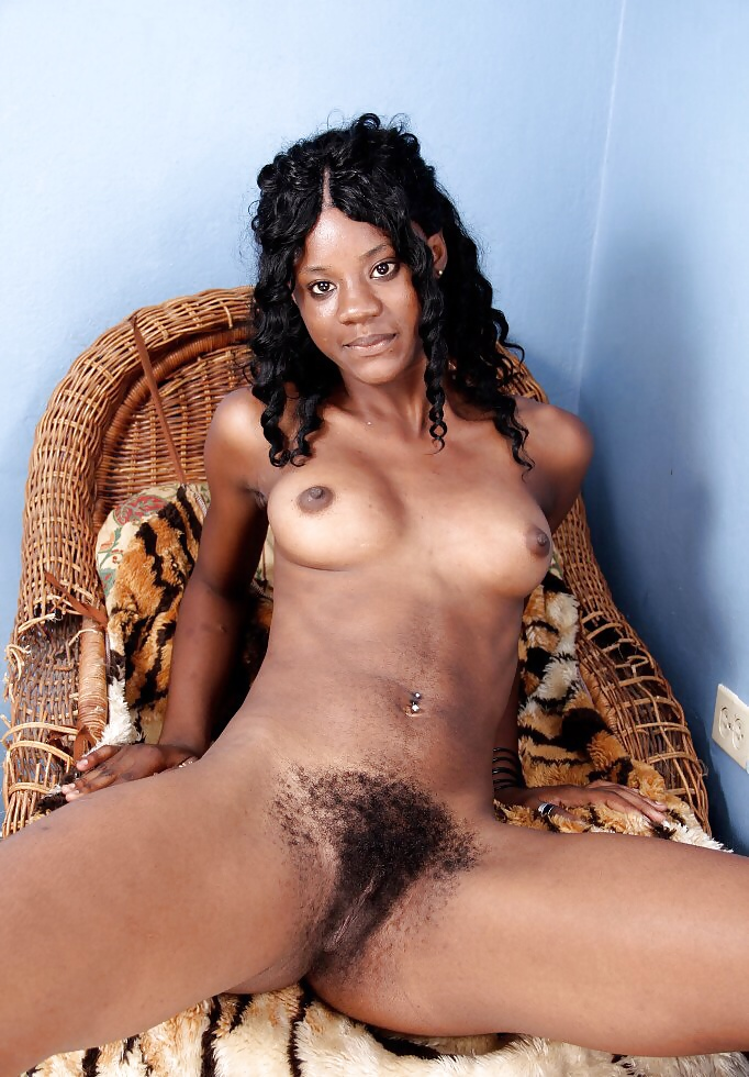 Young ebony with hairy pussy, jesika horny