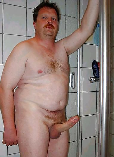 Ugly fat man nude