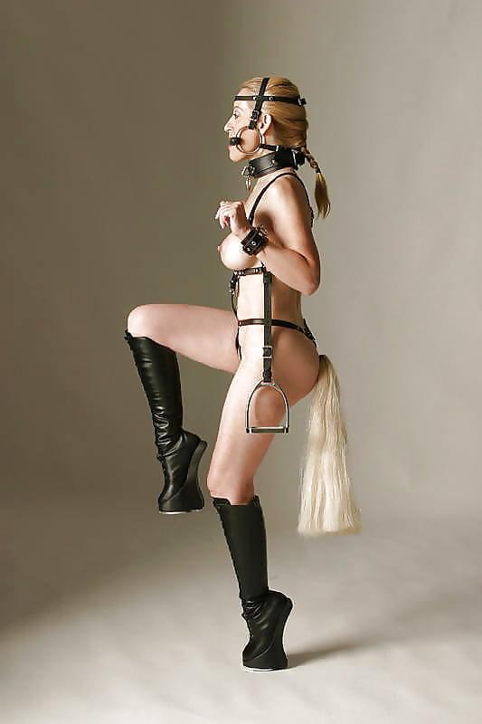 Pony girl bondage hentai