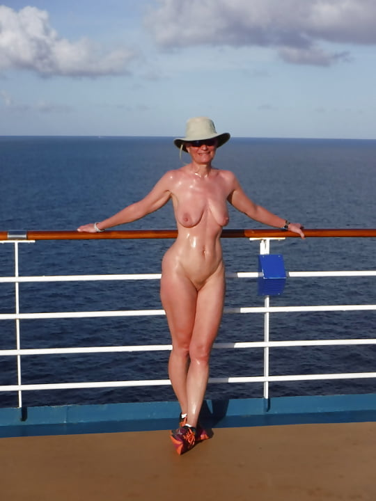 Cruise ship topless balcony
