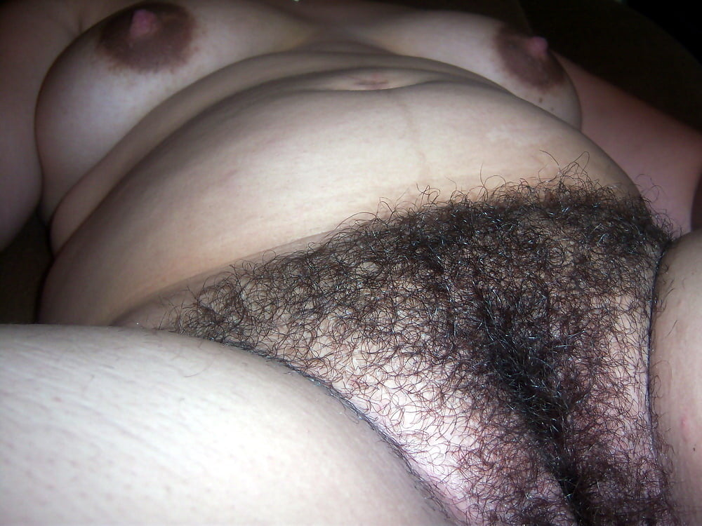 Putting my wife's hairy cunt on display for your enjoyment
