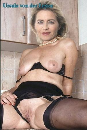 Ursula von der leyen naked