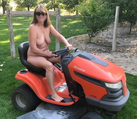 Nude Mowing Lawn Nude Gif