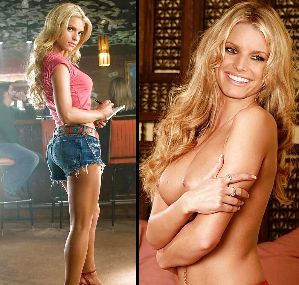 Jessica simpson nude huge natural tits