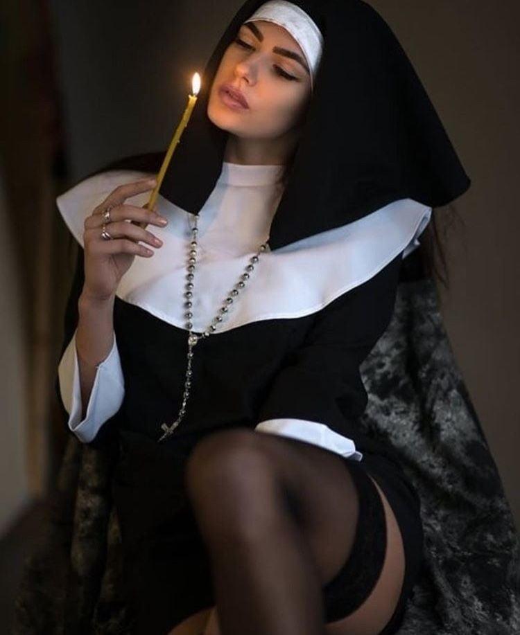 Heavenly Hottie Sexy Nun Costume