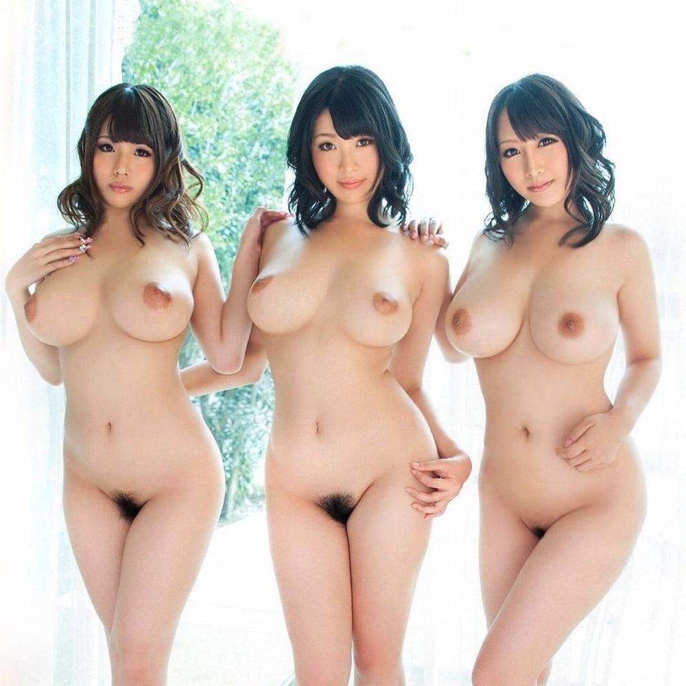 полноту обнаженные сиськастые японки они