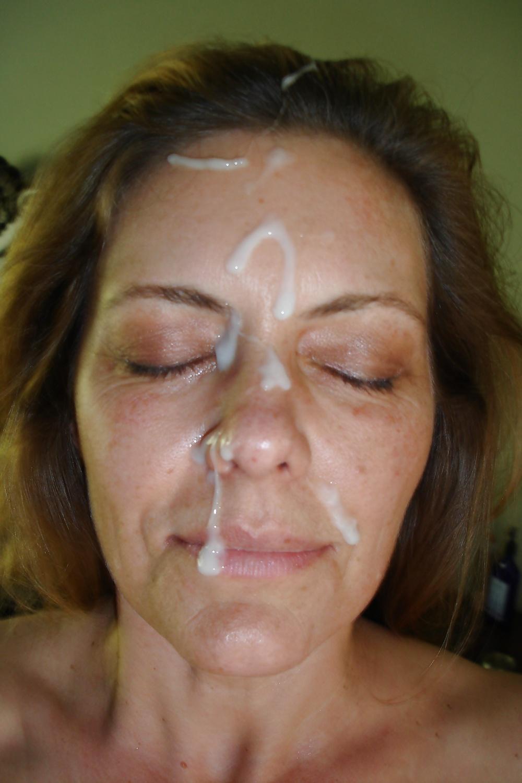 Facial milf no popups, crystal rose a cock run through it