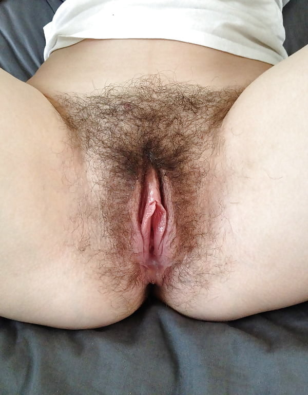 Ass hairy pussy wet