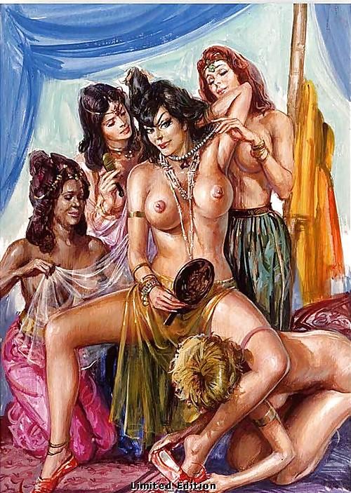 Lesbian harem stories