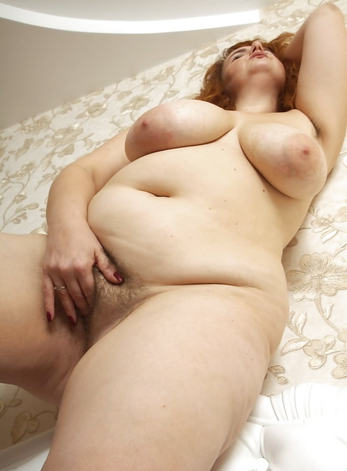 Shaved and unshaved pussy