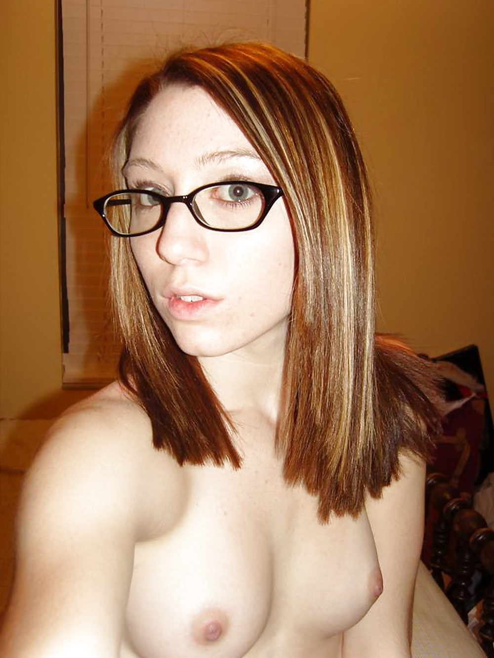 Nude nerdy young girls boob