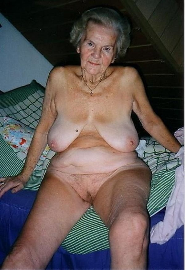 Very Old Saggy Granny Naked