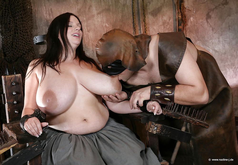 Big Tits Slave Threesome