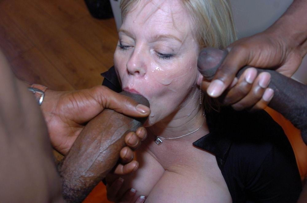 Mature interracial women
