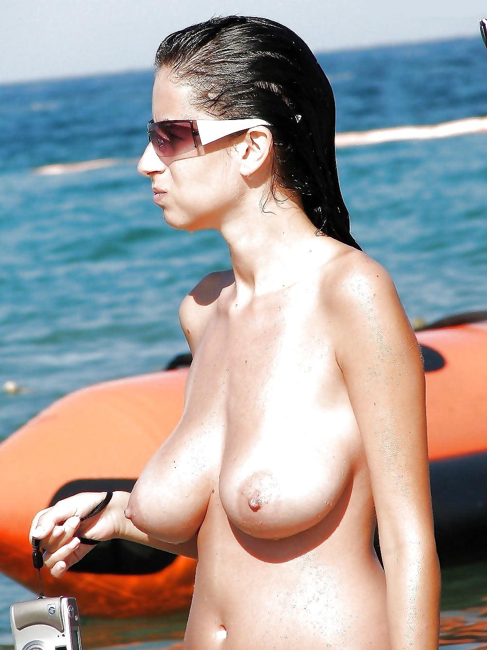 Nude beach female tits, bigboob mexican babes