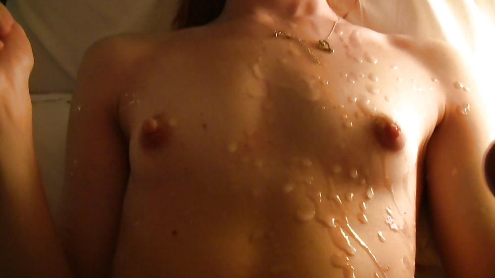 Cum On Nipple