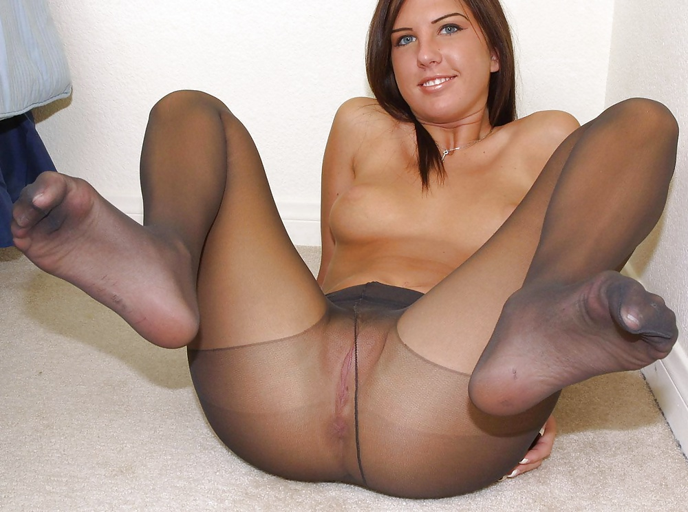 Nude nylons sexy