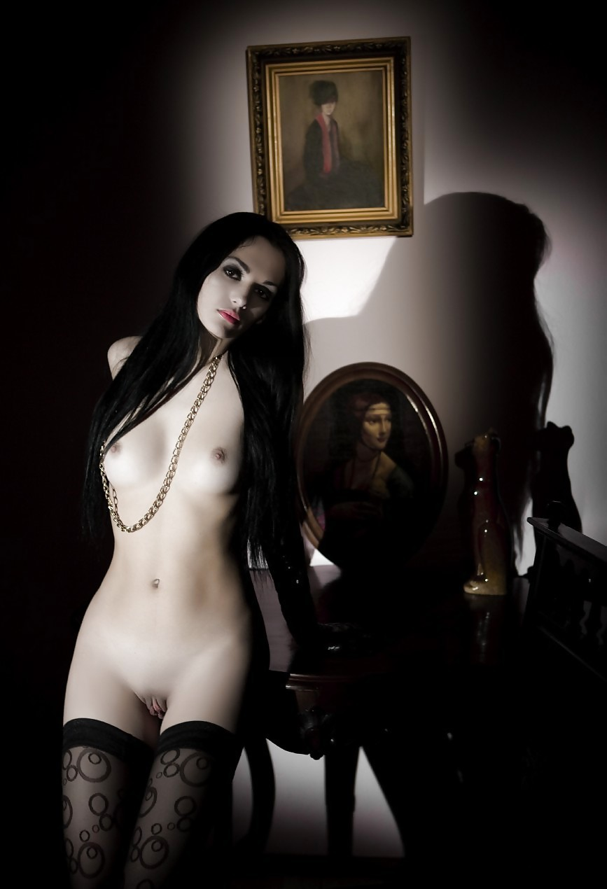 Naughty nude goth chicks