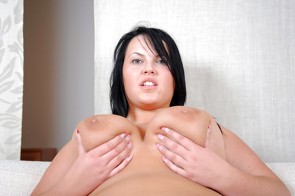 Young amateur girl with big boobs