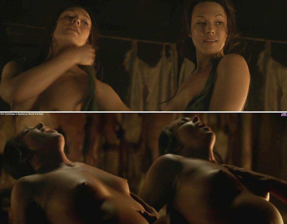 Nude Erin Cummings In Spartacus Mylust 1
