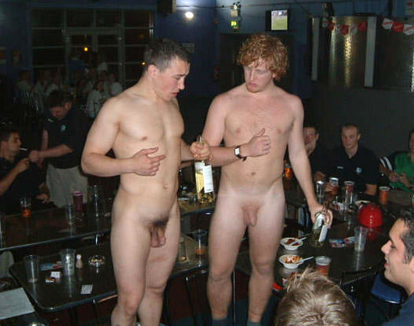 Drunk Naked Party Boys