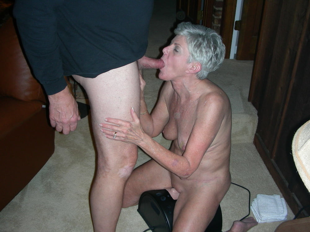 Granny Blowjob Porn Pics