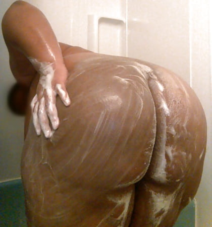 bbw shower Ebony in