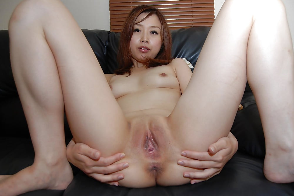 Japanese bbw ass spread