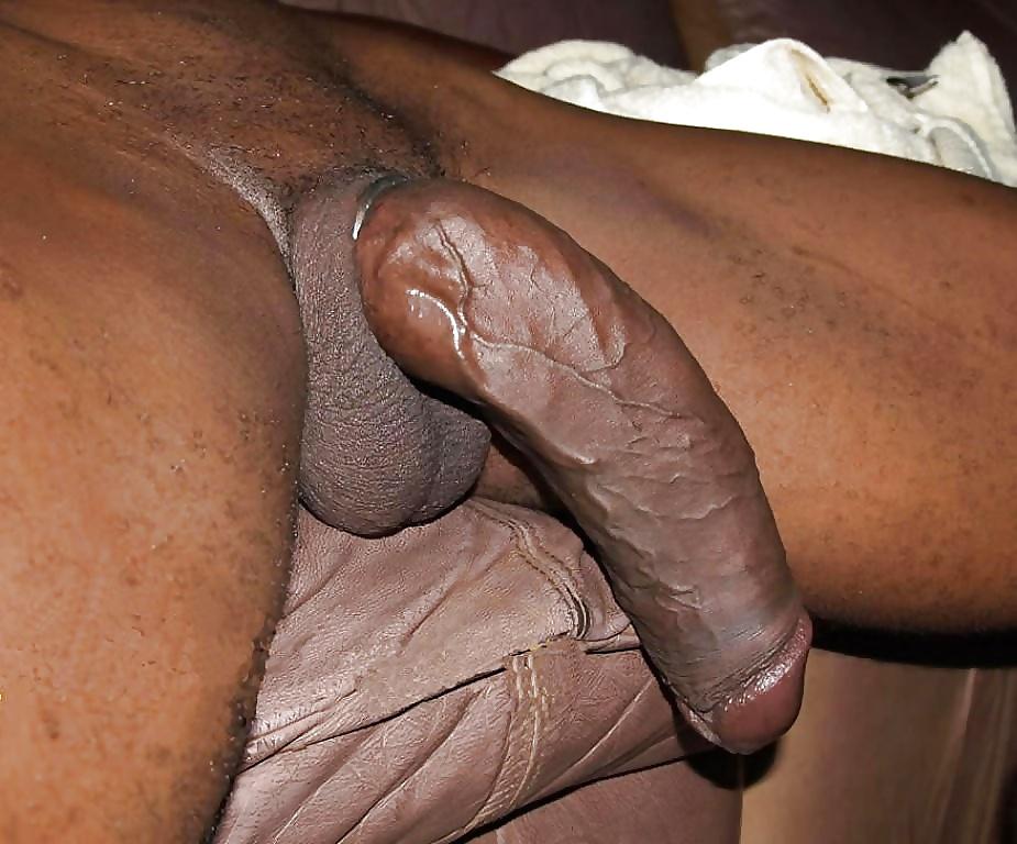Черным большим членом 12