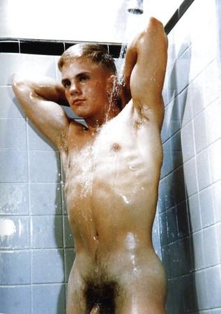 naked Men in the shower