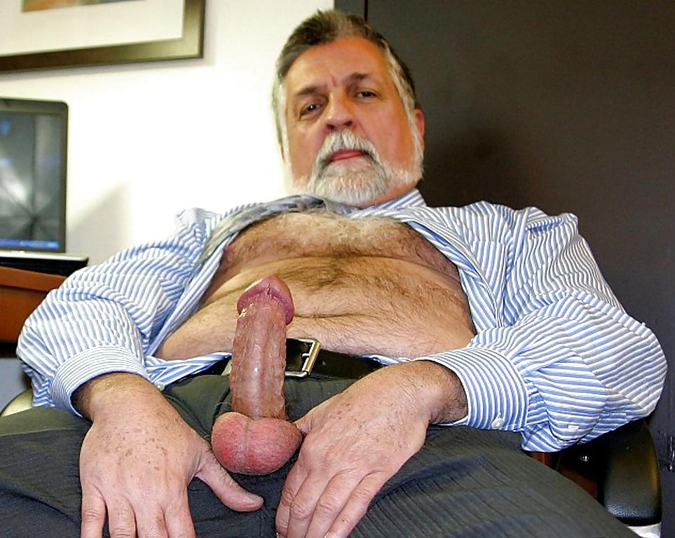 Naked Old Man Big Cock