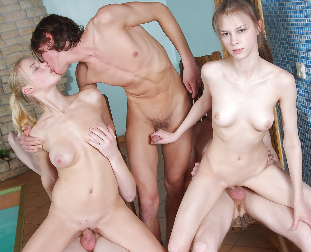 Teenie group sex, large porn emo