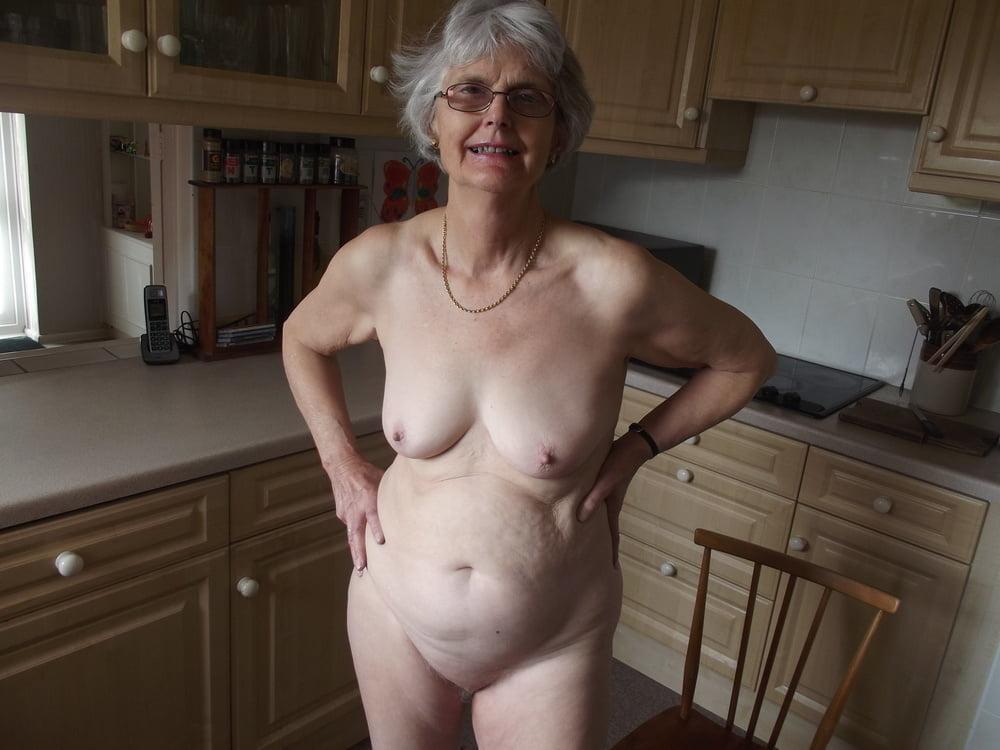 Seductive granny naked