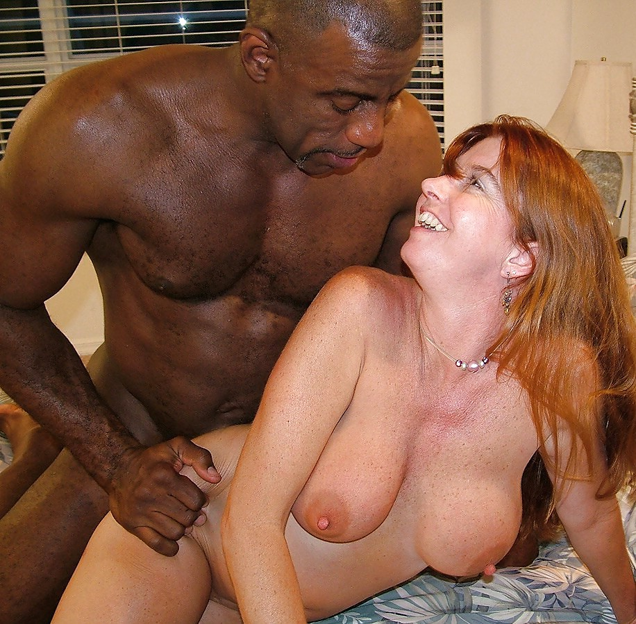 Hood white girl interracial