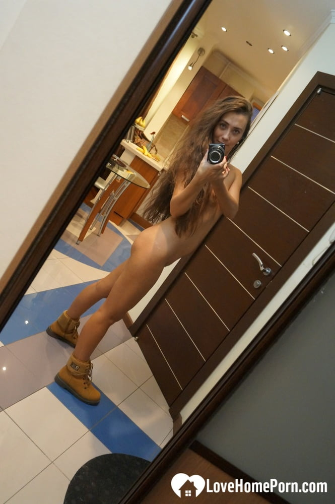 Keeping the boots on during my nudes session