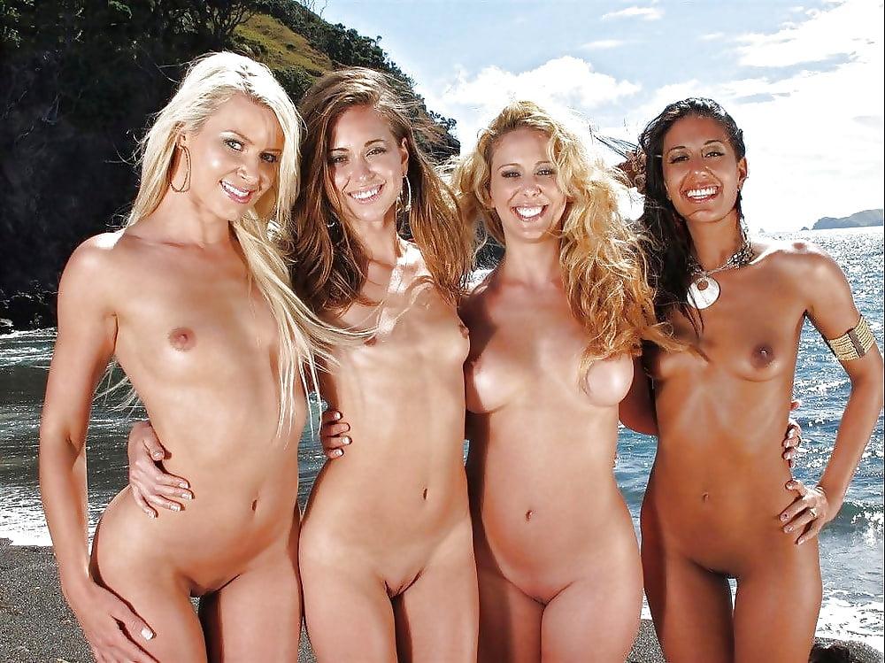 групповая обнаженка на пляже вот тогда