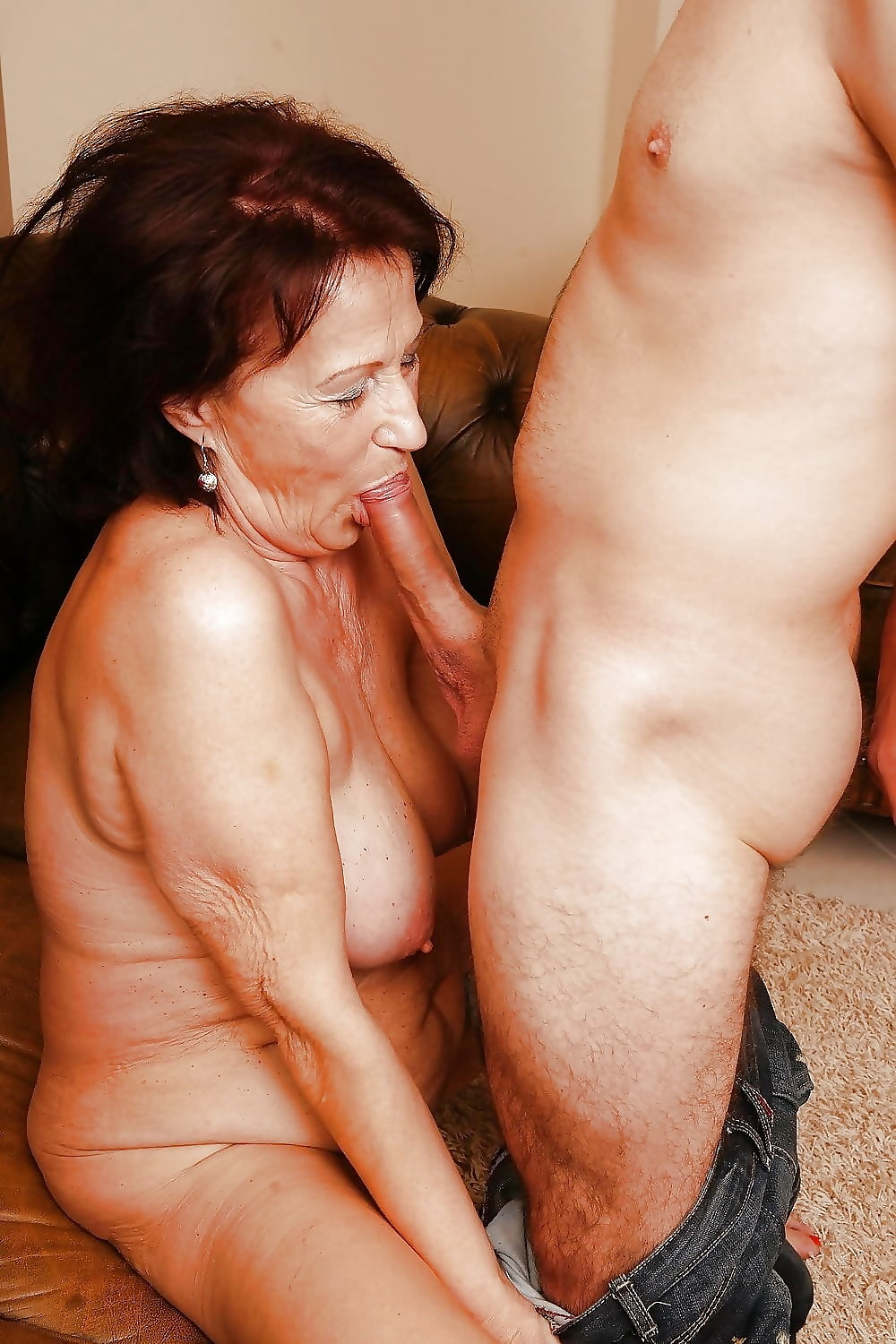 Granny Fucked Young Guy