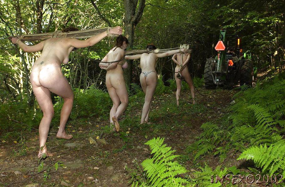 Sexy Naked Girl Hunting