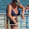 Massive Candid Bikini Granny Tits