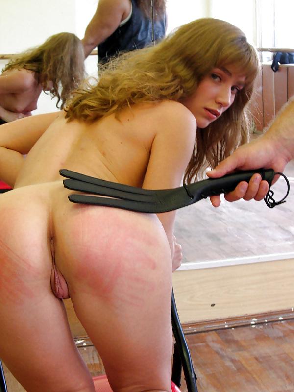 Poor slave girl suffers