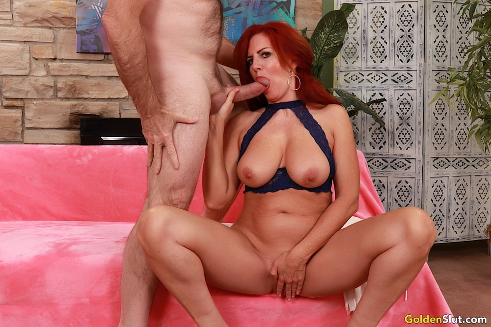 Redheaded Mature Slut Sexy Vaness Myfamilypies 1