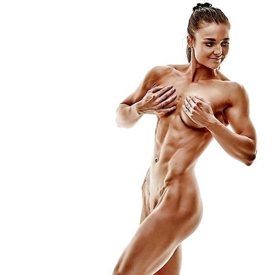 Beautiful hard body nude women