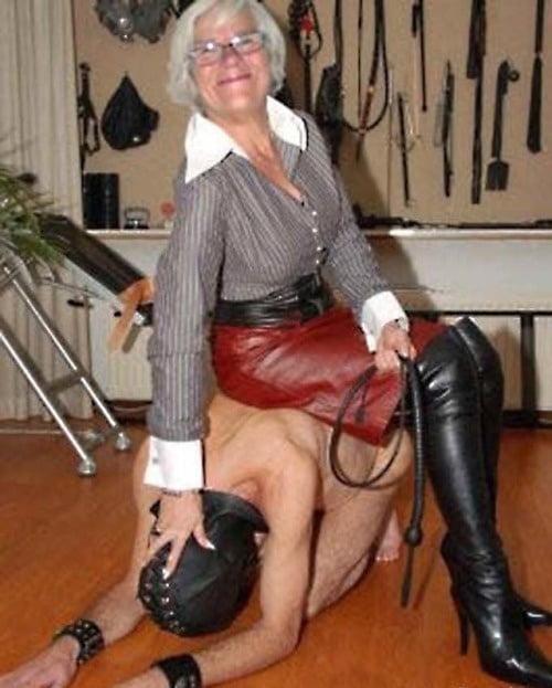 Hot granny femdom