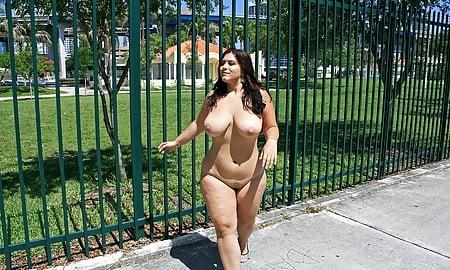 in Bbw public naked