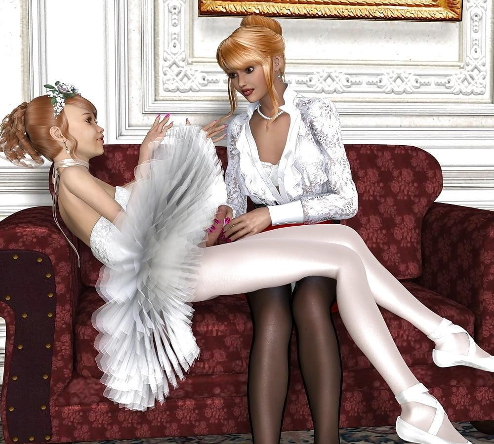 Stories lesbian pantyhose