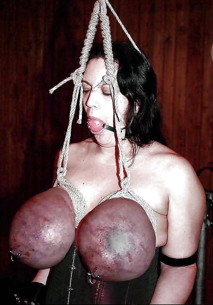 Busty tit torture