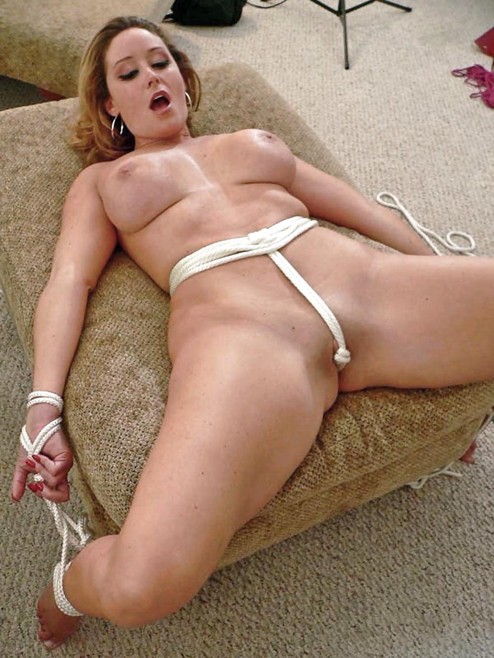 Crotch Roped Blonde Brutal Tormented