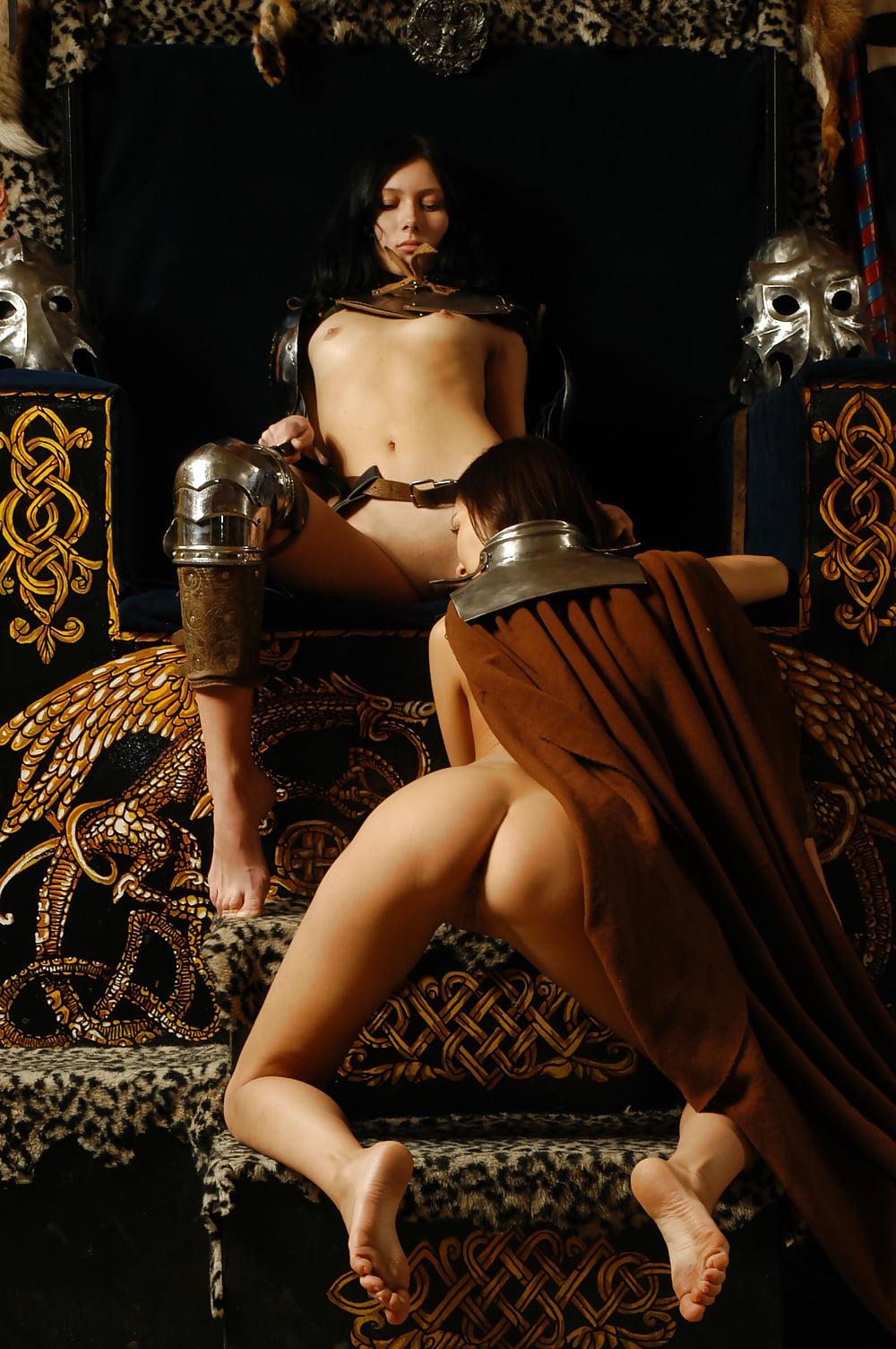 эротика в средневековом антураже - 5