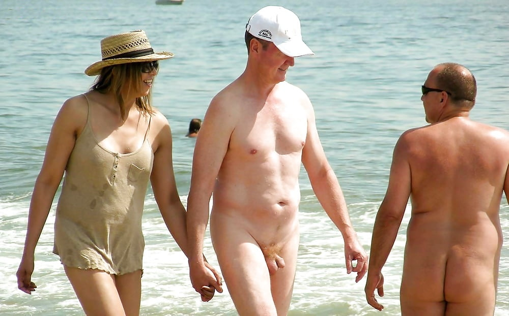 Reluctant nude beach visitor story