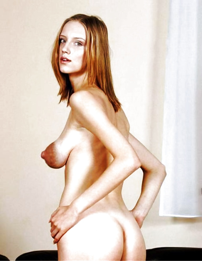 Very skinny women with huge tits nude